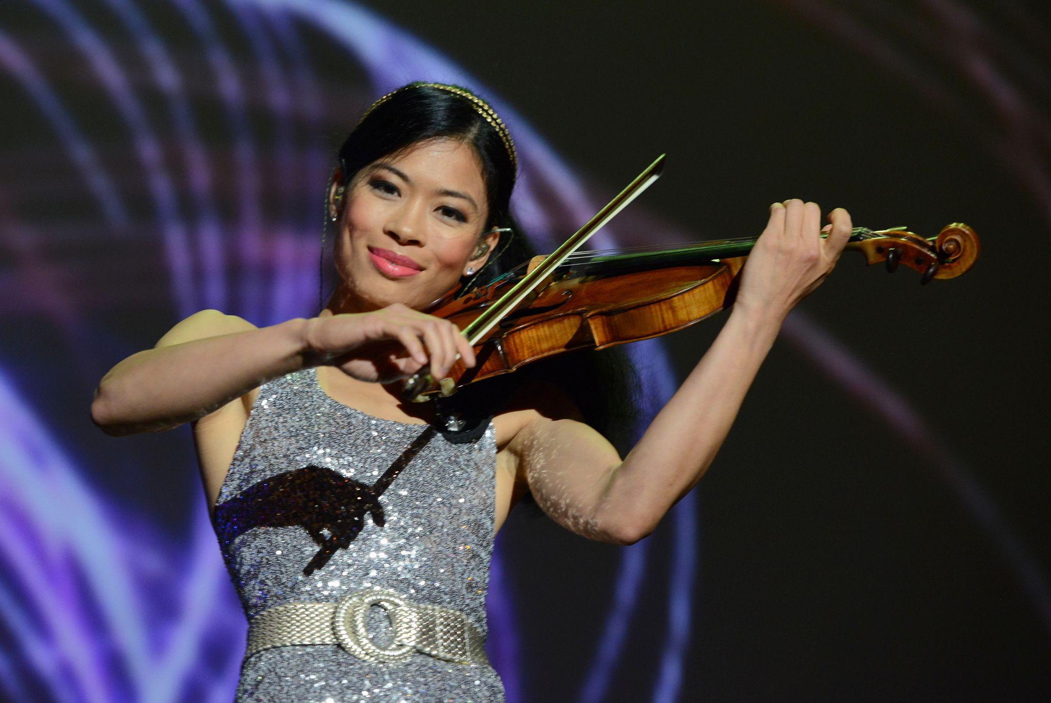 Vanessa Mae: The Goldin Group 20th Anniversary Gala In Hong Kong