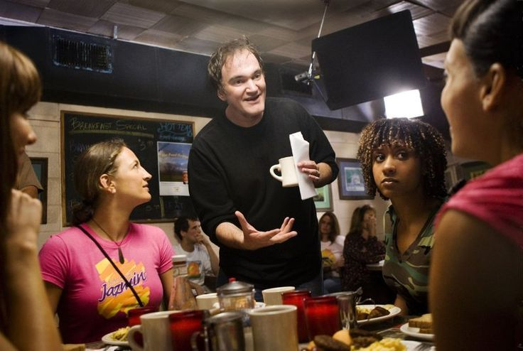 "Quentin Tarantino directing ""Death Proof"""