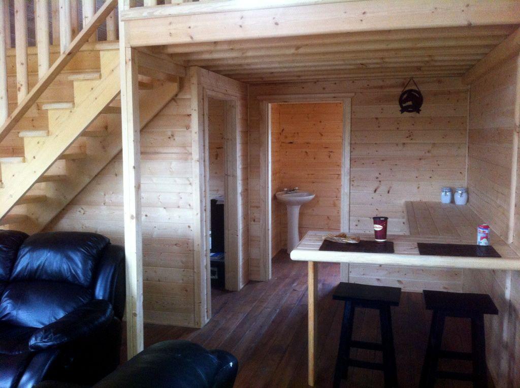 inside 16 x 24 cottage | house design | Cabin interiors