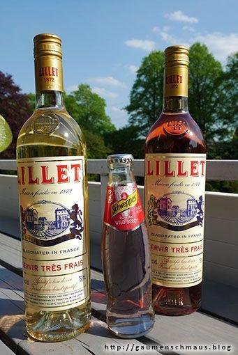 Was passiert wenn man Russian Wild Berry von Schweppes mit dem französischen Aperitifwein Lillet kombiniert? Man kreiert den äußerst spritzigen und leckeren und trendigen Aperitif Lillet Wild Berry