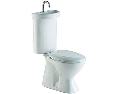 Toilet With Built In Sink....save Water