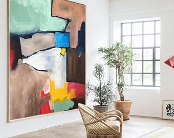 Modern Interieur Schilderij : Geen gezicht jurjen ruben schilderijen