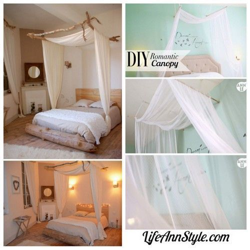 Letto Con Baldacchino A Muro.Diy Embroidery Hoop Bed Canopythis Is My Most Popular Pinterest