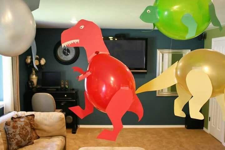 أفكار بالونات للحفل Birthday Party Decorations Diy Dinosaur Party Decorations Dinosaur Balloons