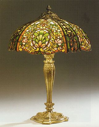 Duffner U0026 Kimberly Louis XV Table Lamp.