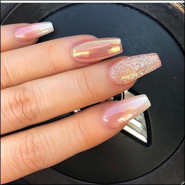 139+ fabulous ways to wear glitter nails designs for 2019 summer! – page 47 | ho…