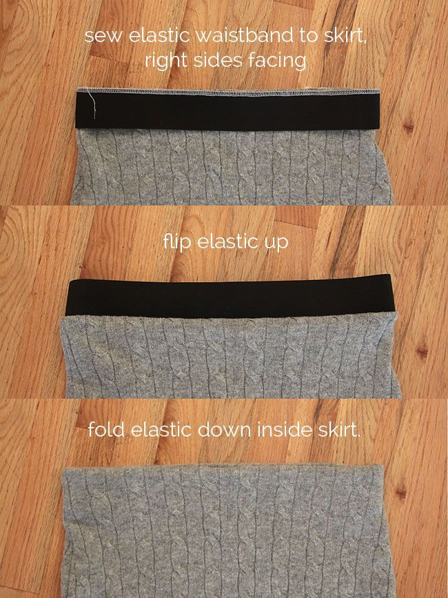 easy cable knit pencil skirt made from a sweater – It's Always Autumn