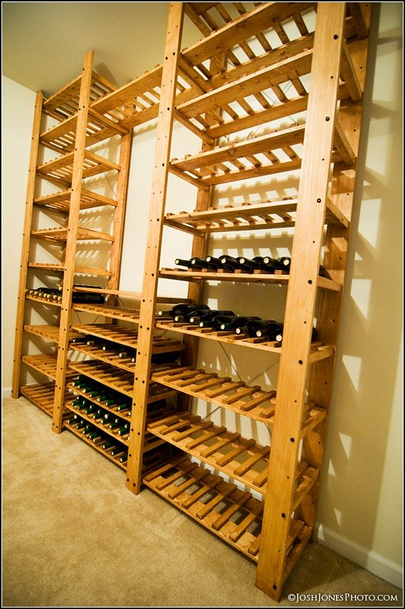 It's important to make it work for the entire household, from spacious work surfaces, a practical layout,. My New DIY Wine Cellar - Wine Making & Grape Growing Forum   Diy wine cellar, Wine rack plans