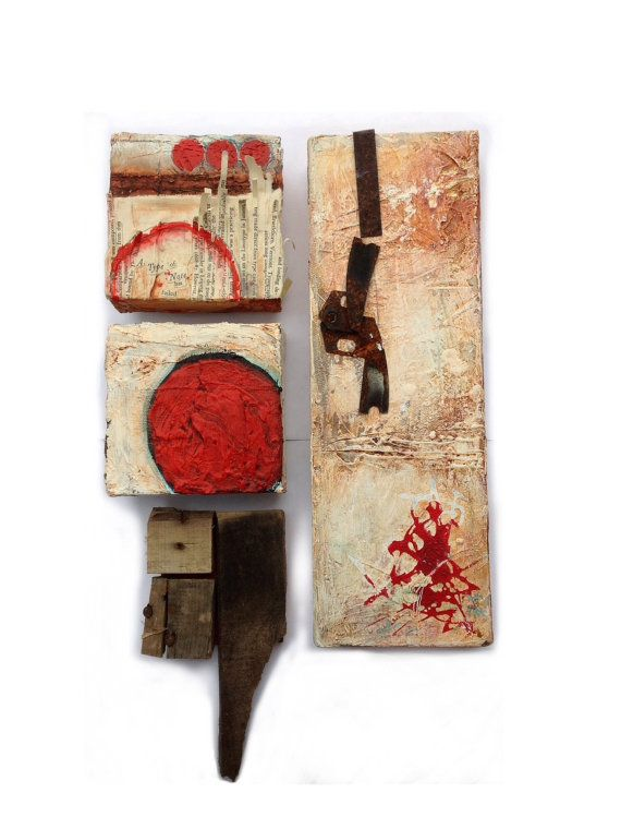 Abstract Art Mixed Media Wall Art Failed by DustinGoolsbyArt