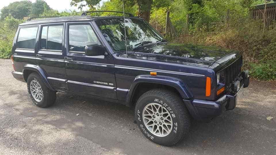 eBay 1998 JEEP CHEROKEE LIMITED A Brand new MOT SERV