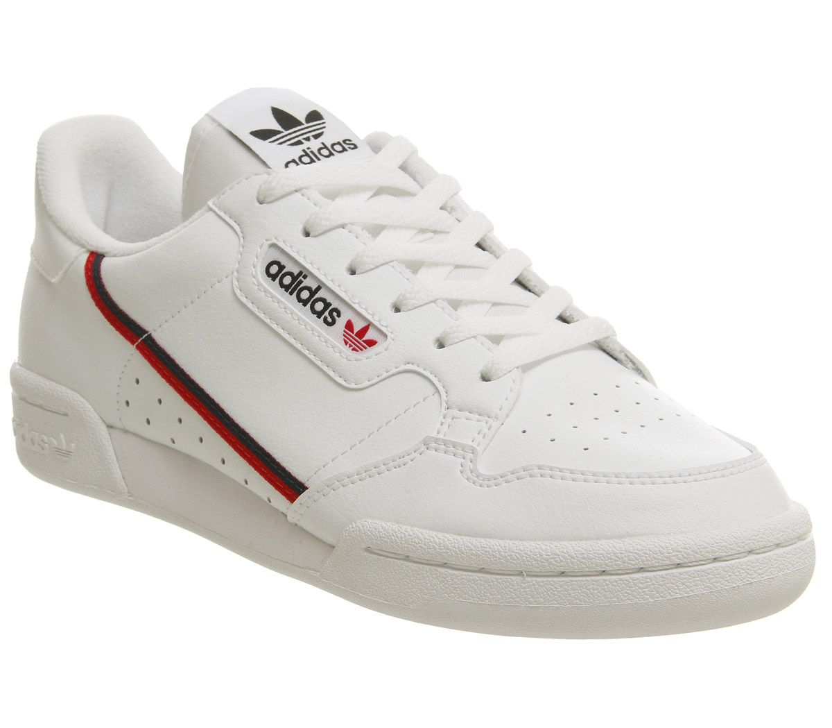 Continental 80s Junior Trainers | Trainers, Adidas, Scarlet