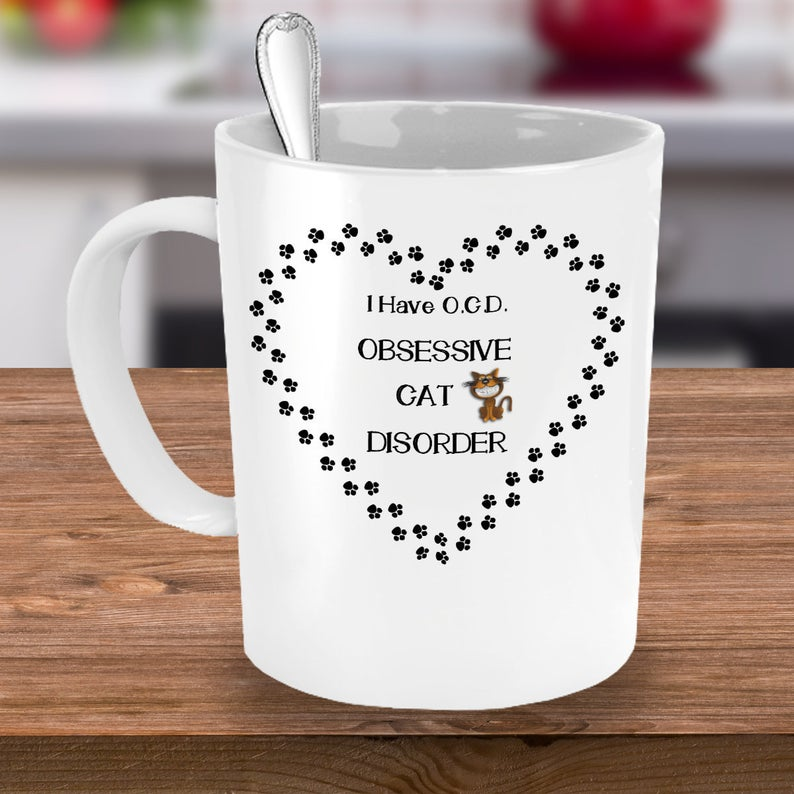 Cat Coffee Mug, Gifts For Cat Lovers