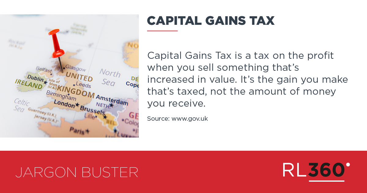 Pin By Rl360 On Rl360 Investment Glossary With Images Investing Capital Gain Capital Gains Tax