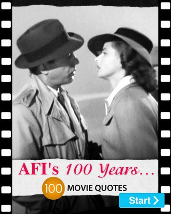 AFI's 100 Years     100 Movie Quotes | world best dress out