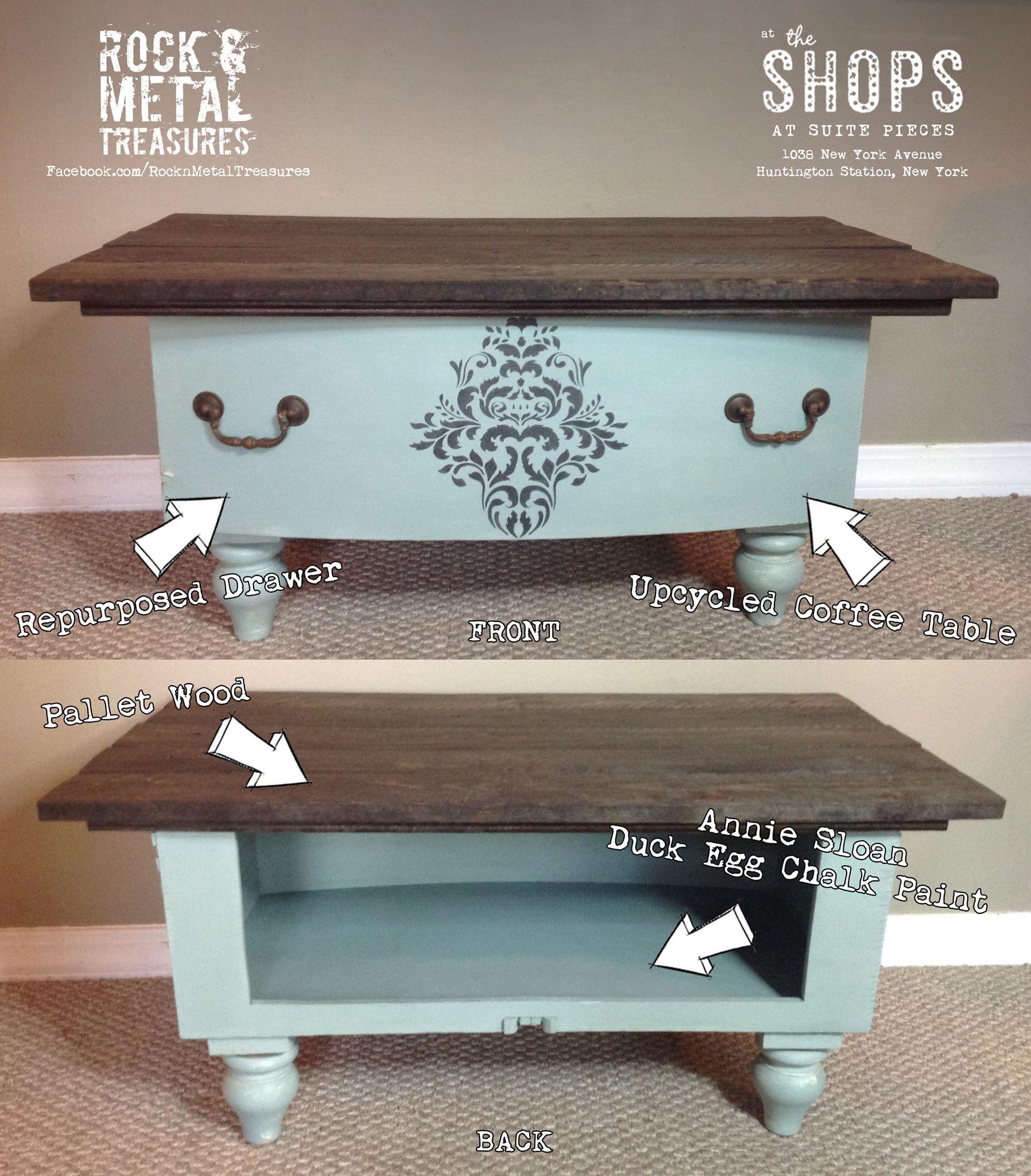 Repurposed Large Dresser Drawer Into A Rustic But Yet Elegant