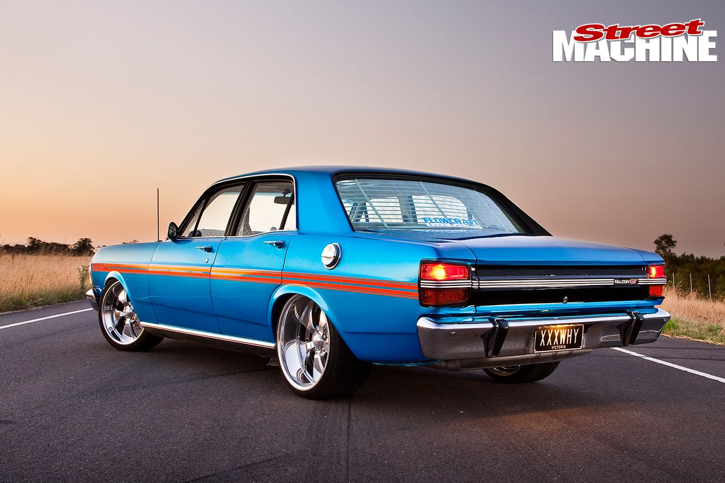 Electric Blue XY Falcon GT Replica Australian Muscle Cars, Aussie Muscle  Cars, Gt Cars