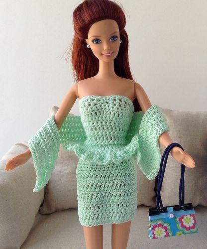 Barbie Simple Peplum Dress
