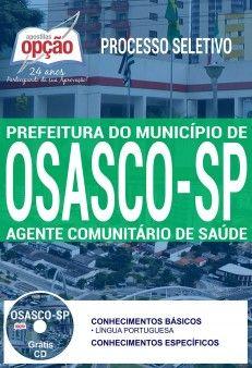 Apostila Processo Seletivo Prefeitura De Osasco 2017 Agente