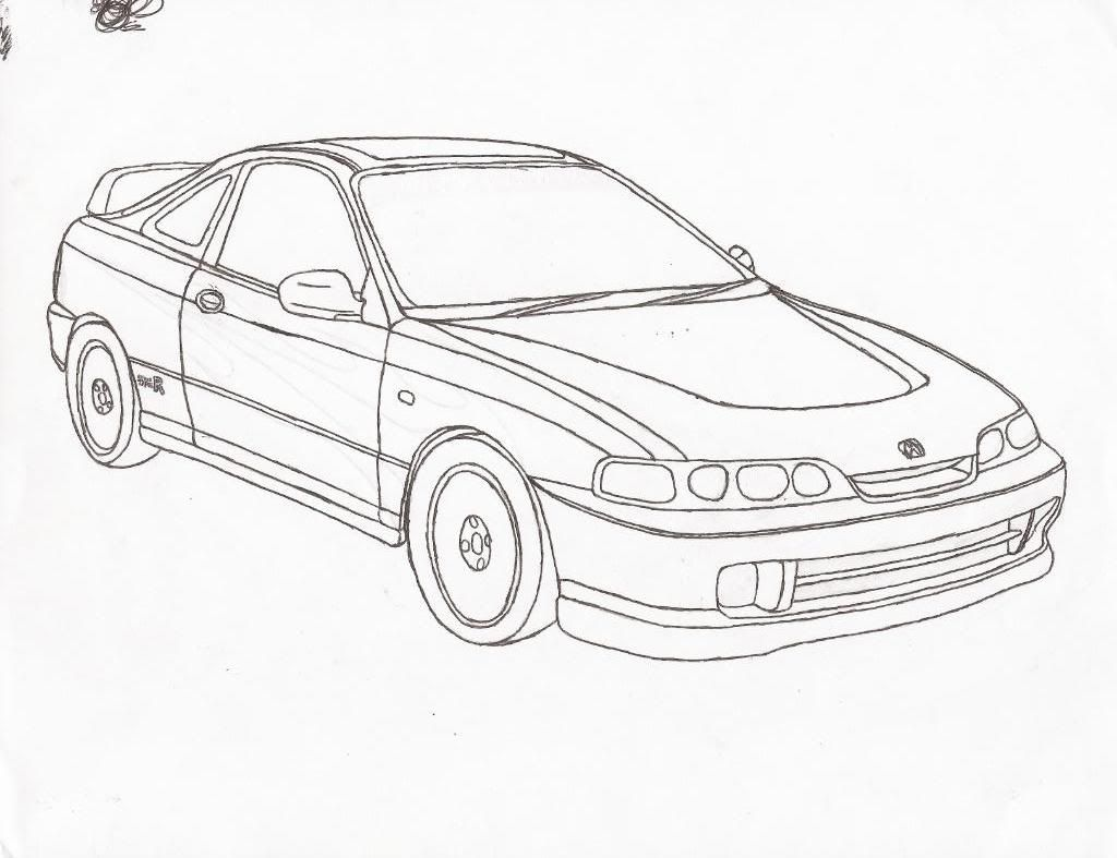 Coloring Pages Honda Cars Honda Coloring Pages Download And