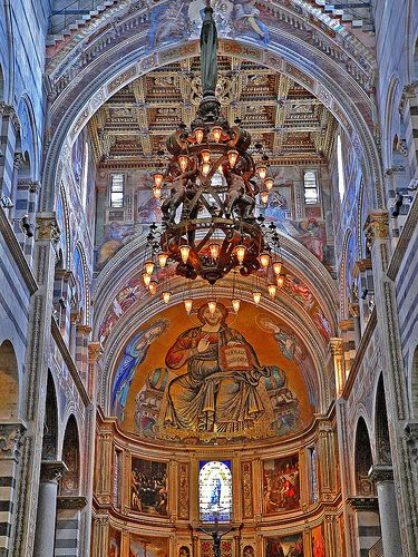 The legendary galileo chandelier at the cathedral duomo in pisa the legendary galileo chandelier at the cathedral duomo in pisa mozeypictures Image collections