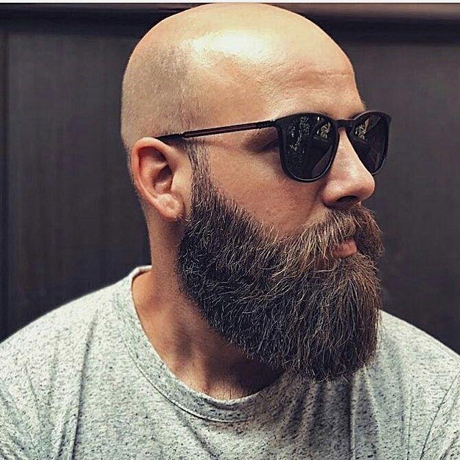 Pin De El David David En Estilos Tipos De Barba Para Hombres Hombres Calvos Con Barba Barba Hombre
