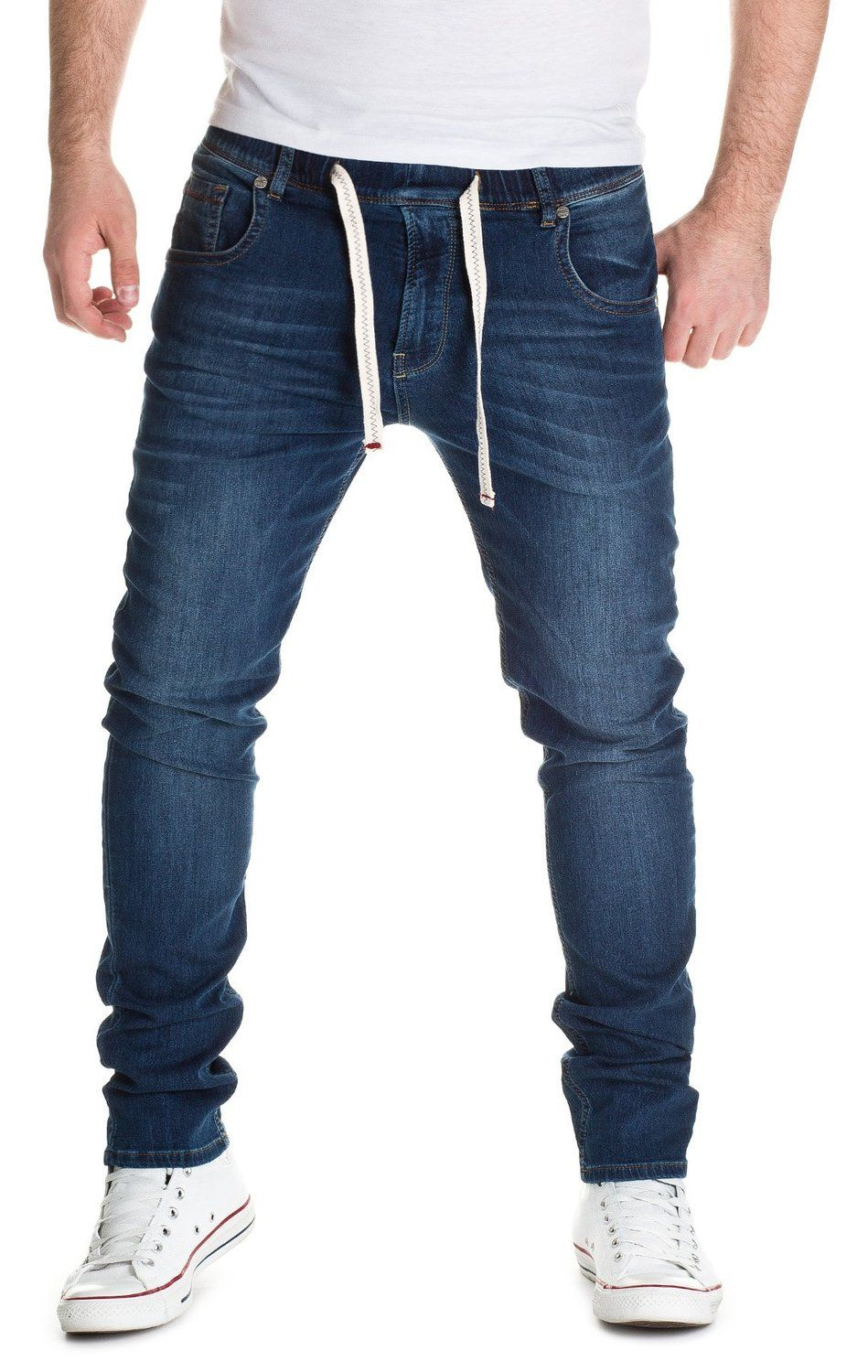 f8dab0732abe Yazubi Designer Sweatpants in Jeans-look - Steve - Jeans Jogger Pants at Amazon  Men s Clothing store