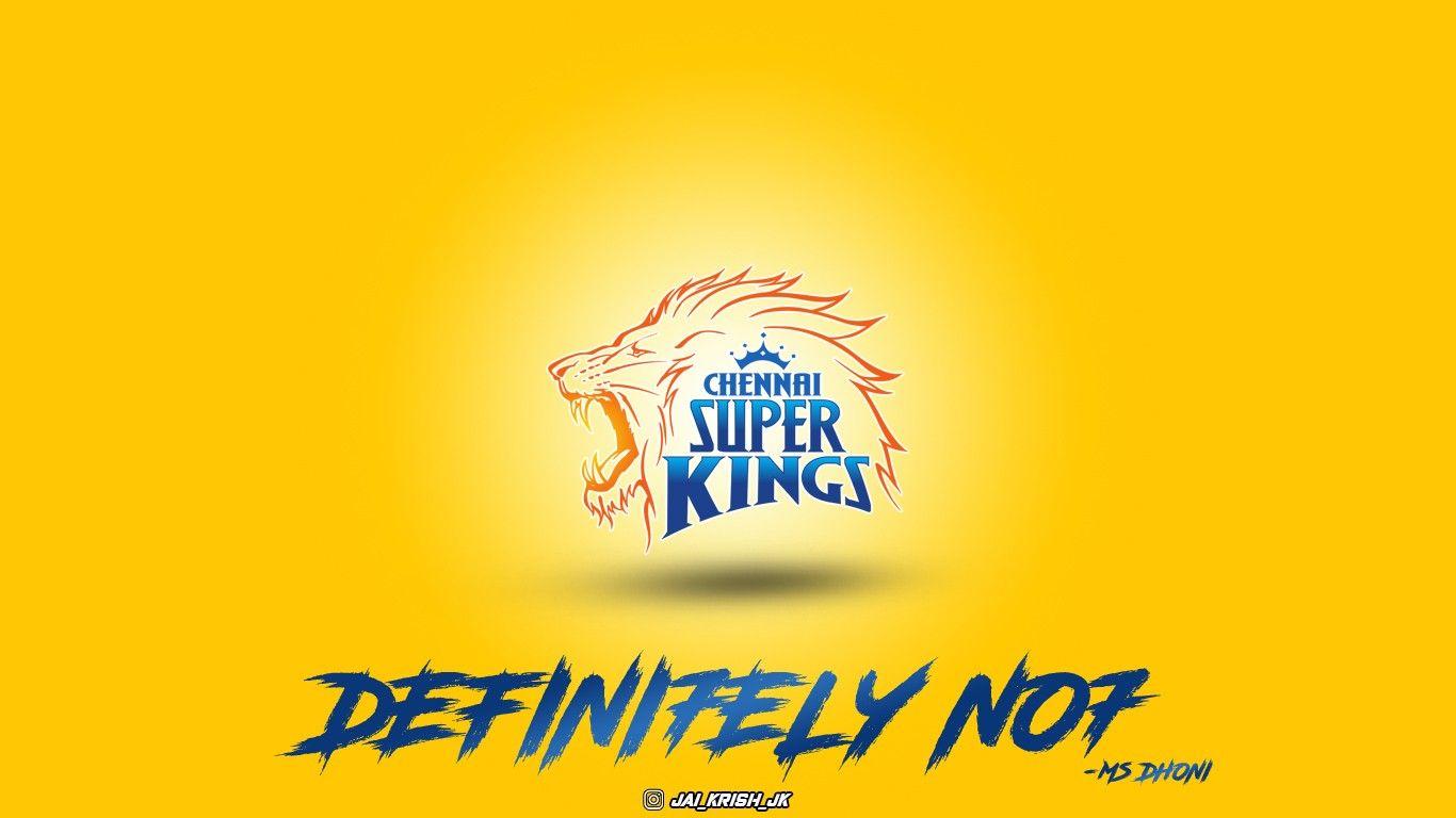 Chennai Super Kings Wallpaper Hd 1080p Wallpaper For Pc Free Download 2021 In 2021 1080p Wallpaper Dhoni Wallpapers Wallpaper Pc