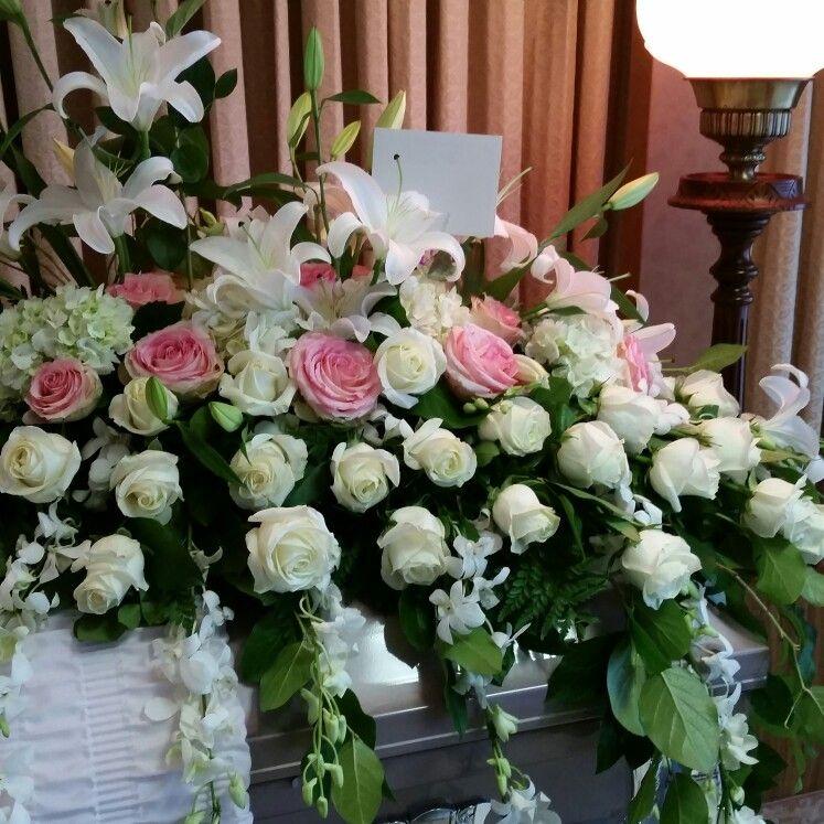 #funeral#lirios#rosas#orquideas#
