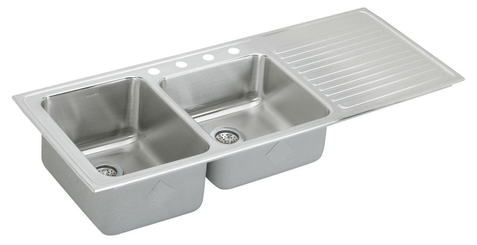 Elkay Ilgr5422l Top Mount Kitchen Sink Sink Stainless Steel Sinks