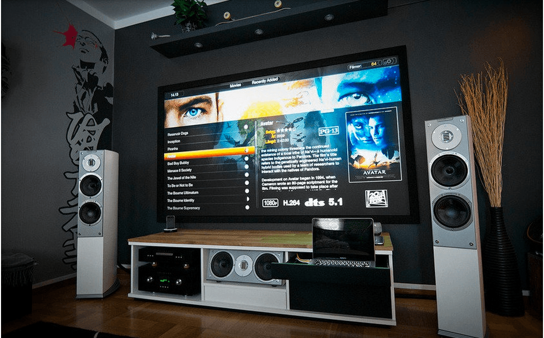 Home entertainment network allows you to enjoy the movies and media ...