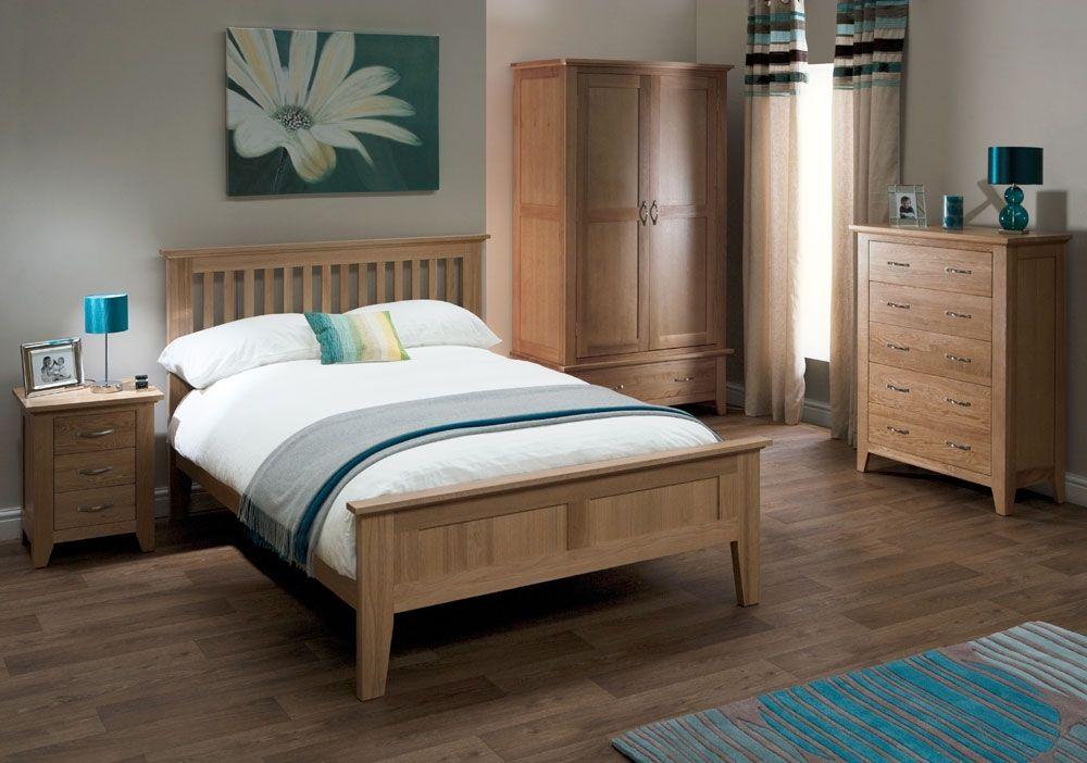 Oak bedroom furniture sets – splendid choices of style - Designalls