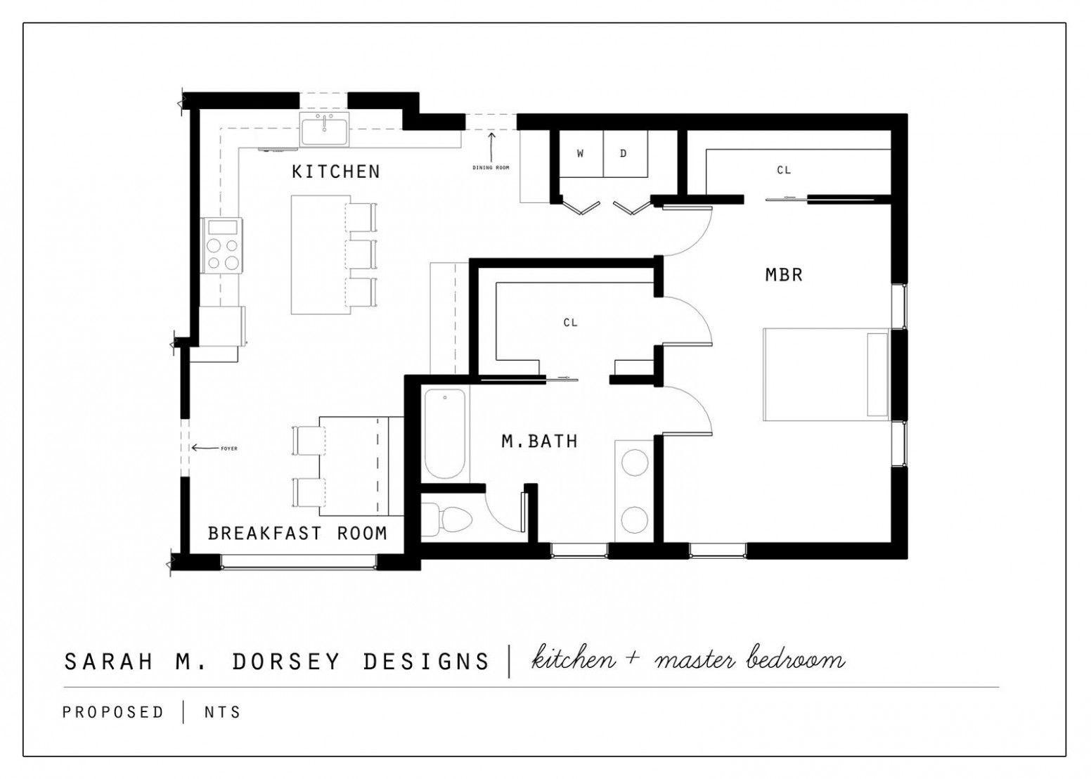 Bedroom Floor Plan Master