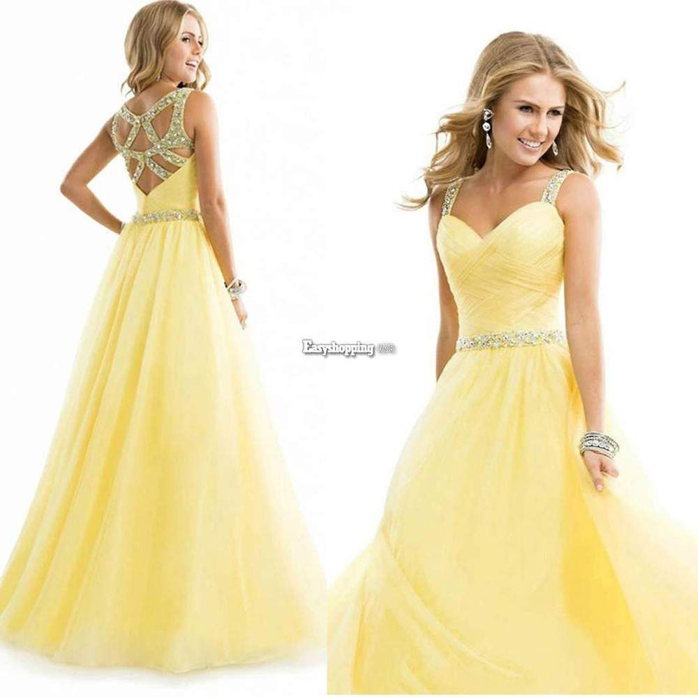 Women long formal prom dress cocktail party ball gown evening