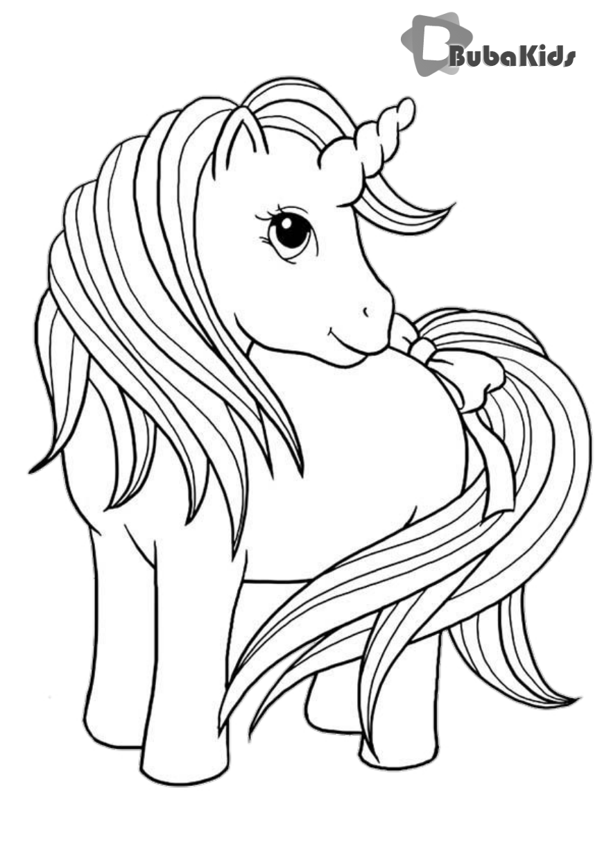 Cute Unicorn Coloring Page Printable Coloring Cute Page Printable Unicorn Coloring Cute Horse Coloring Pages Animal Coloring Pages Cute Coloring Pages