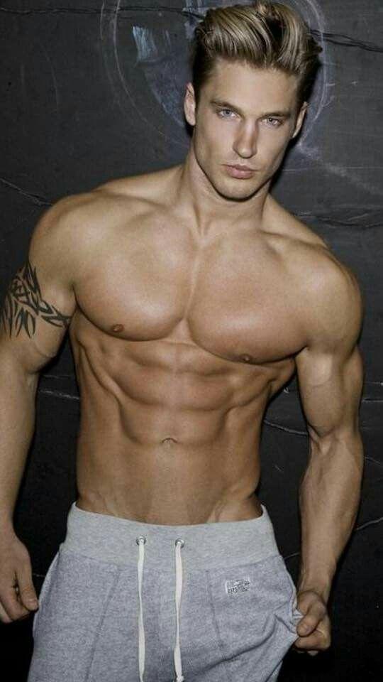 blond hairy muscular men