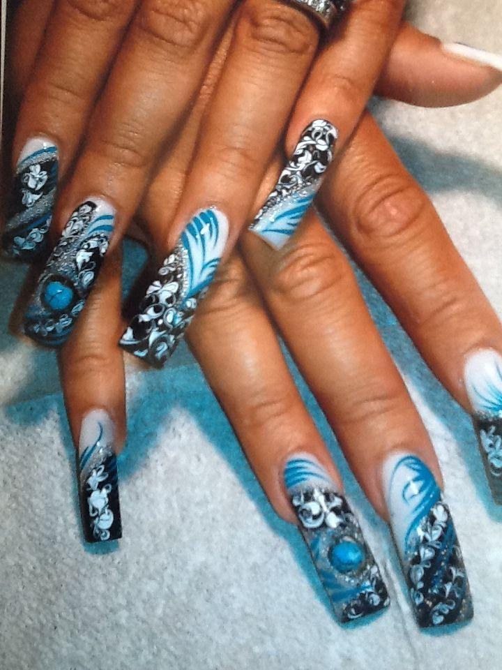 long nails! - #nails #nail art #nail #nail polish #nail stickers ...