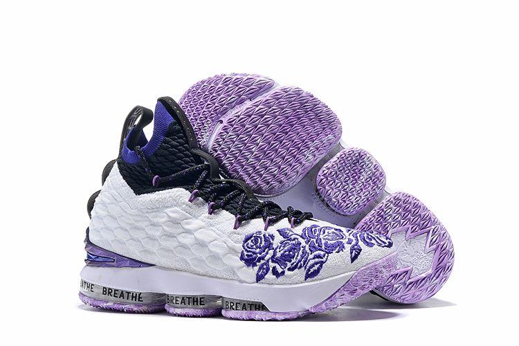 "best loved c900b 8a855 2018 Nike LeBron 15 ""Purple Rain"" For Sale"