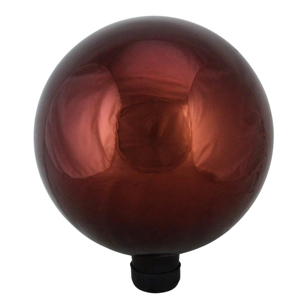 Northlight 10 Shiny Berry Red Outdoor Patio Garden Gazing Ball Red Glass Glass Swimming Pools Backyard