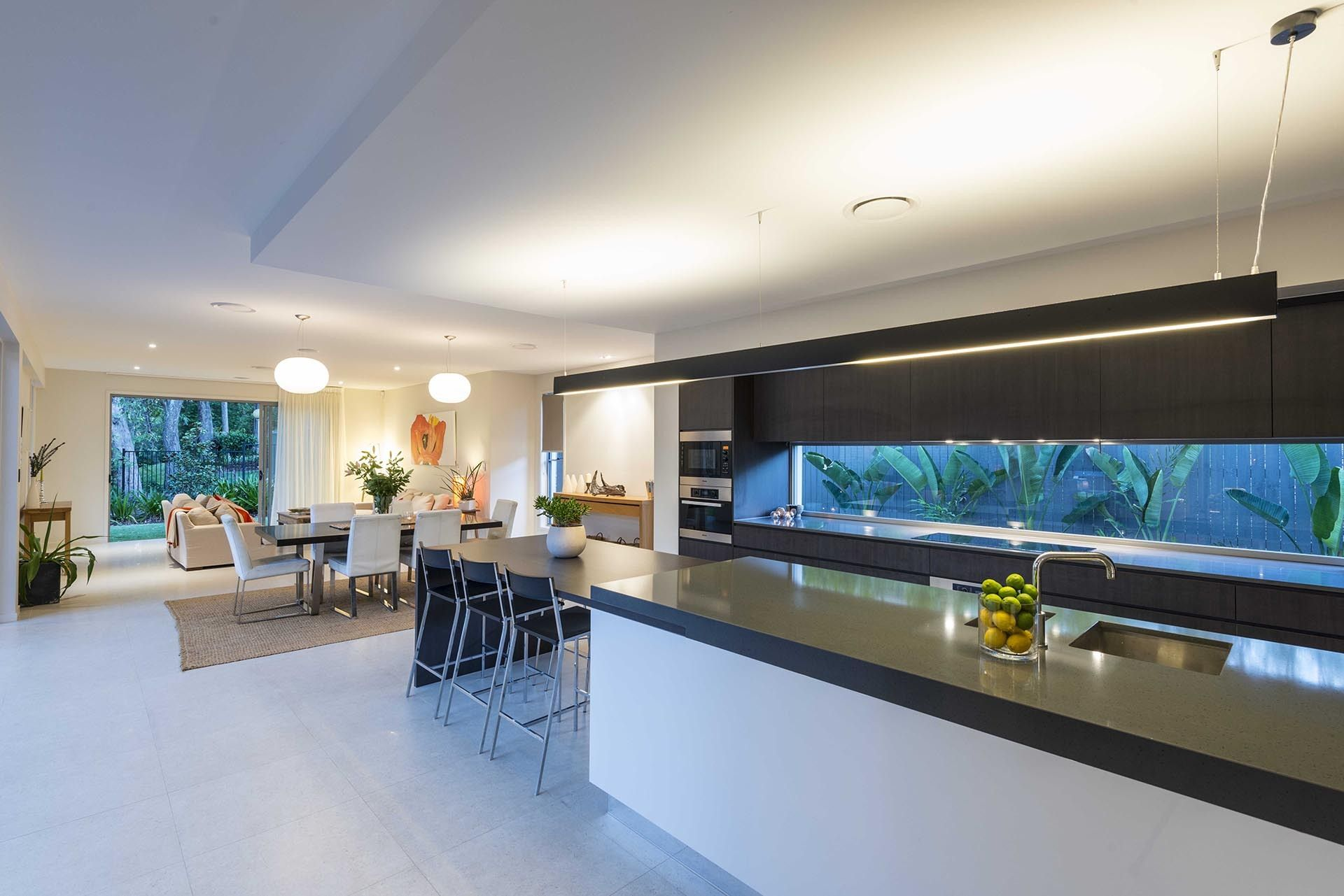 Sloping Lot, split level house Brisbane - DesignBuild Homes