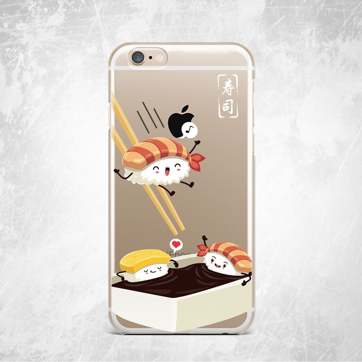 funda iphone sushi