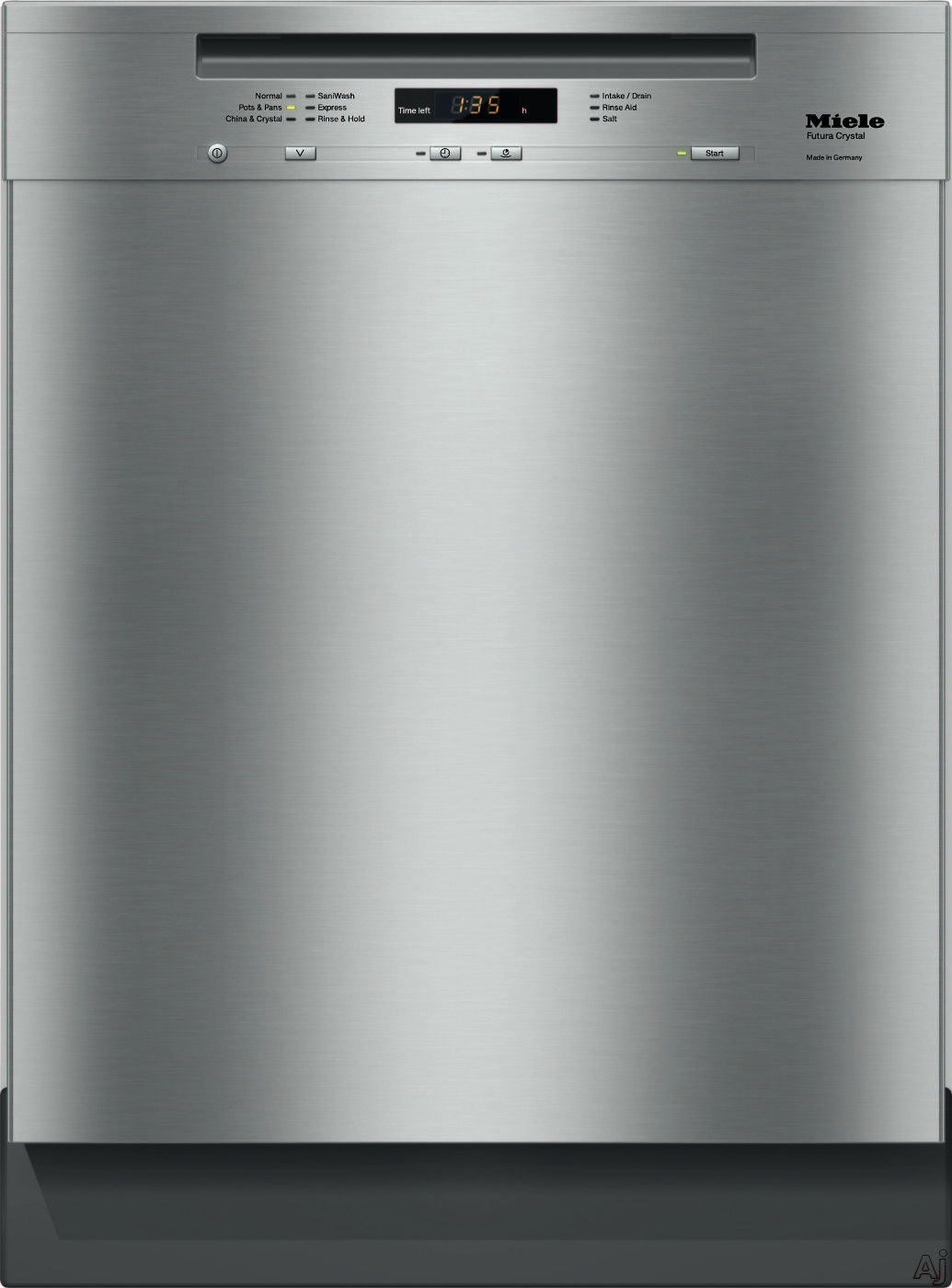 Miele G6105scu Full Console Dishwasher With 6 Wash Cycles