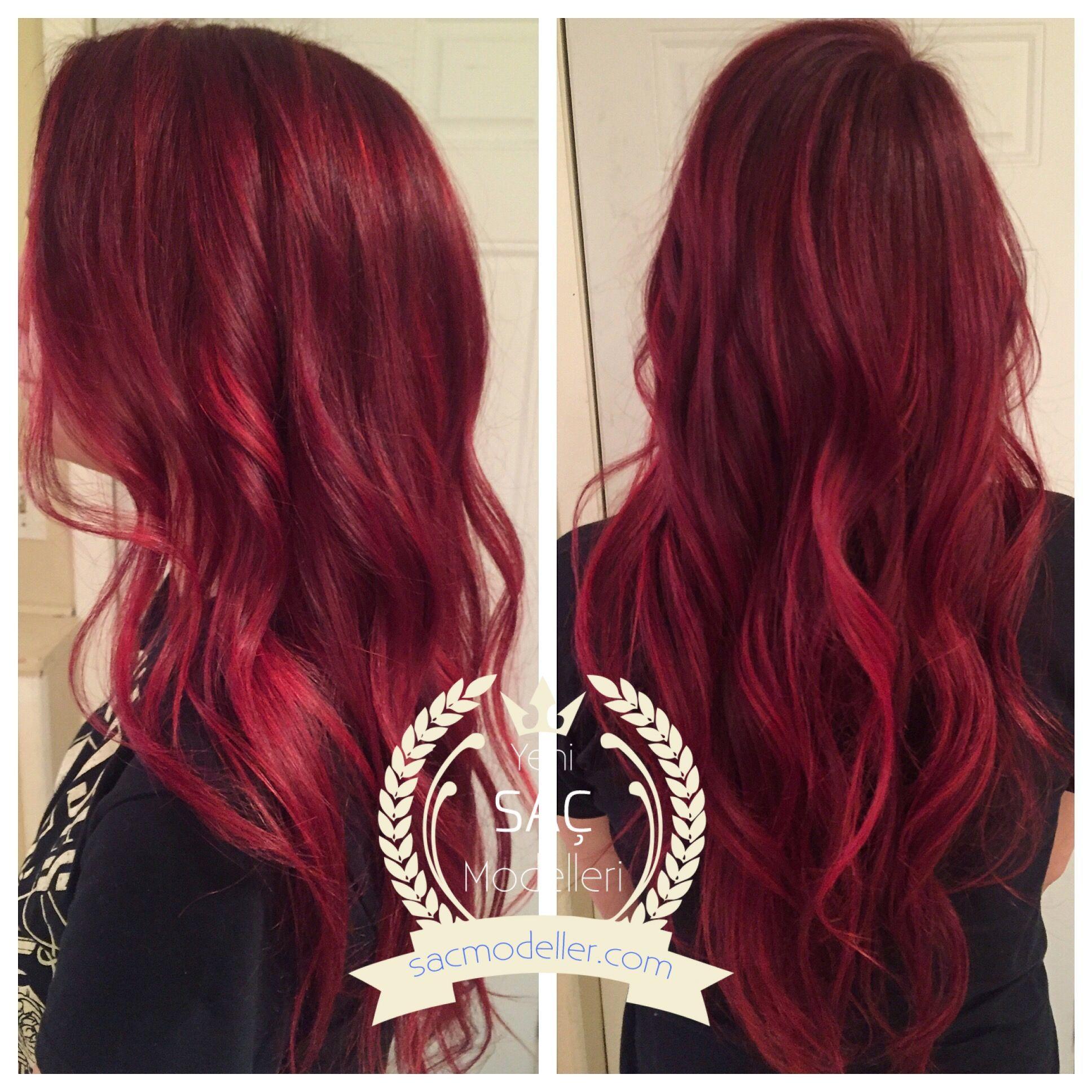 En Cok Begenilen Kizil Sac Rengi Modelleri Gorgeous Hair Hair