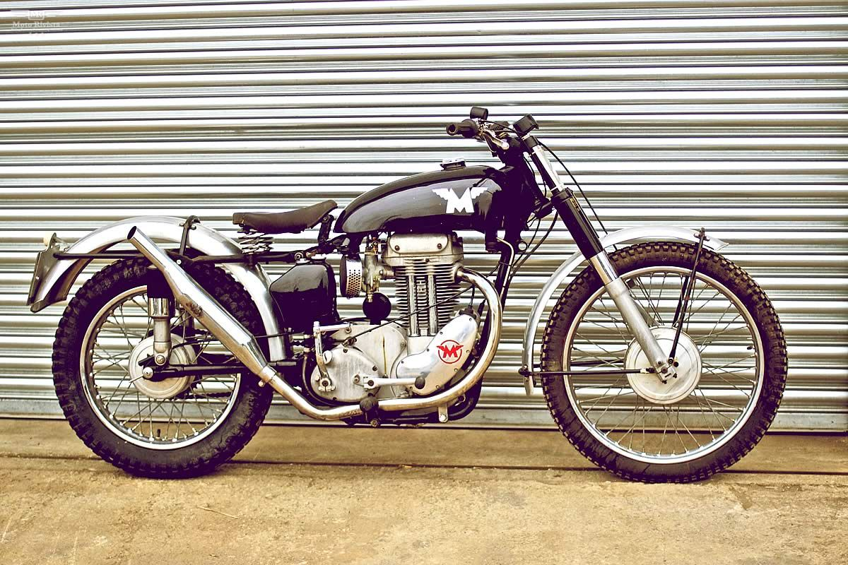 Matchless 350cc G3ls Trials Matchless Cafe Racer Motorcycle Cafe Racer