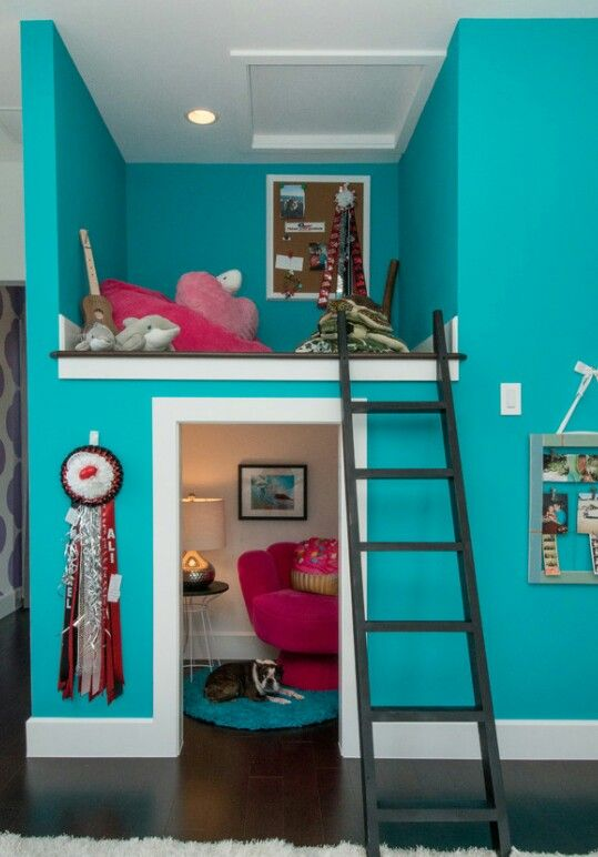terrific girls bedroom ideas kids | Great use of space | Cool rooms for kids in 2019 | Small ...