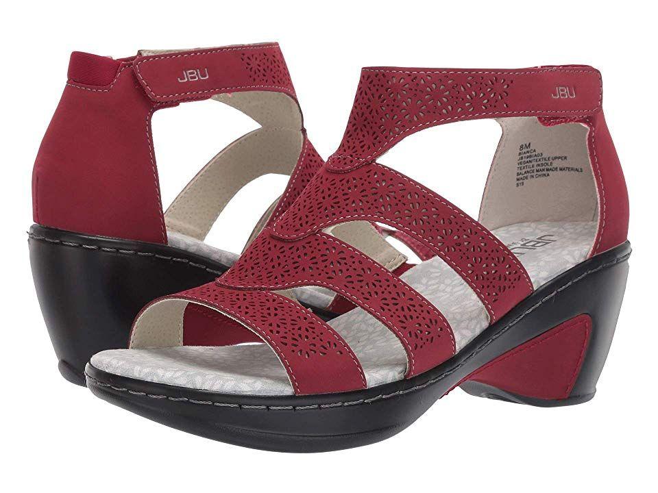 JBU Bianca Women's Shoes Red | Products in 2019 | Women's