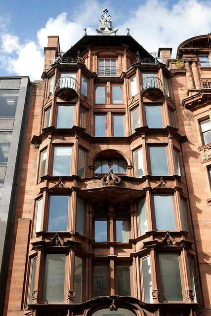 The Glasgow Style City Walking Tour Glasgow Architecture