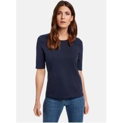 Gerry Weber Basic Shirt organic cotton Blau Damen Gerry Weber