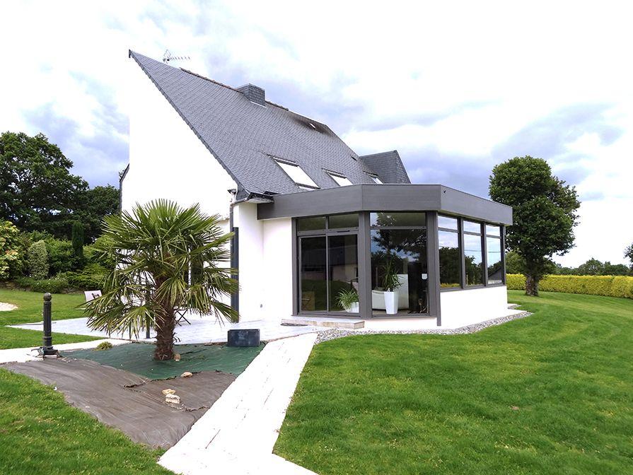Préférence extension toit plat bandeau alu | veranda | Pinterest | Toit plat  NC99