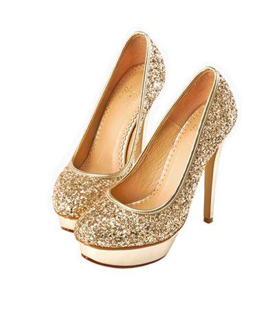 Grace giftGrace gift 官方購物網站 - MIT奢華碎石防水台高跟鞋