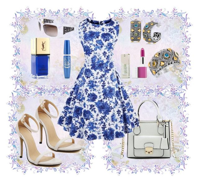 """""""The Jewel"""" by adroabstyle ❤ liked on Polyvore featuring Majorelle, John Richmond and Volum"""